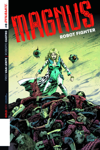 Magnus, Robot Fighter #0