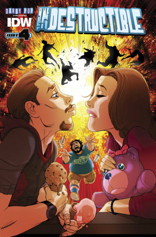 Indestructible #4 (Subscription Cover)