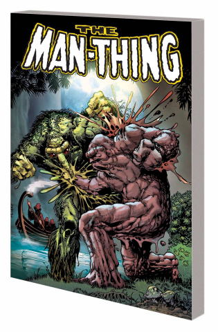 Man Thing by Steve Gerber Vol. 2