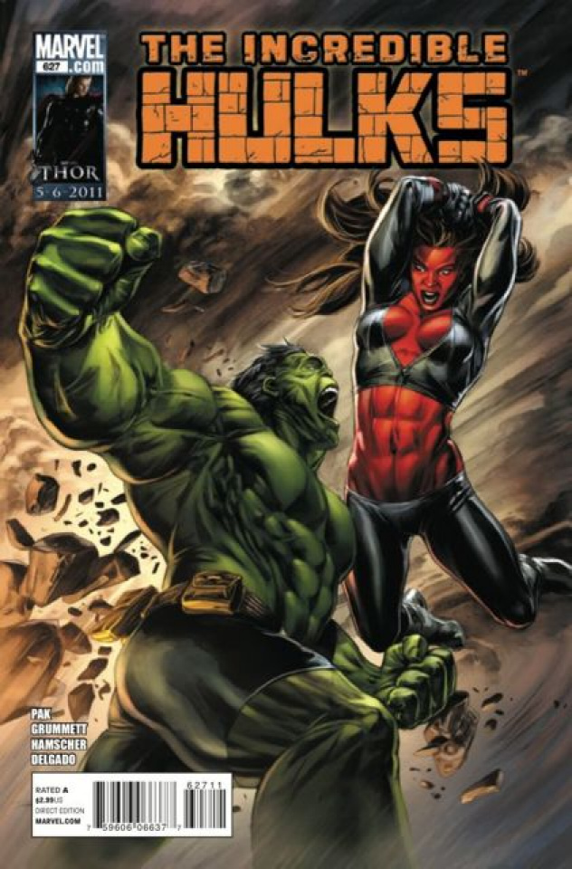 The Incredible Hulks #627