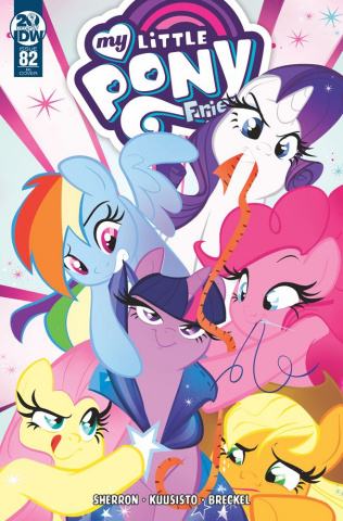 My Little Pony: Friendship Is Magic #82 (10 Copy Baldari Cover)