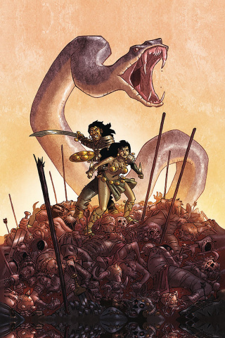 The Cimmerian: Queen of the Black Coast #1 (Pierre Alary Cover)