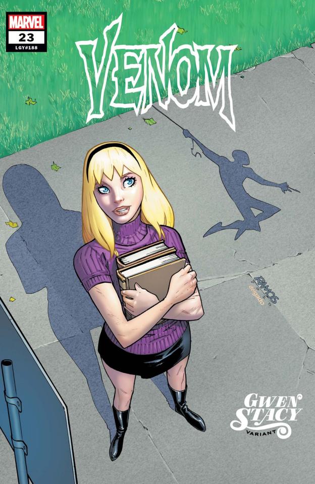 Venom #23 (Ramos Gwen Stacy Cover)