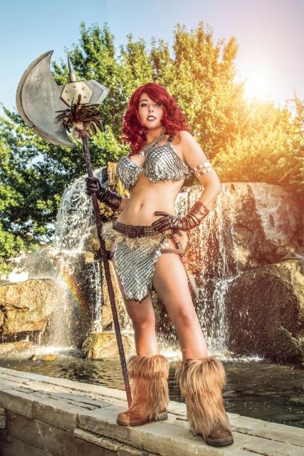 Red Sonja #7 (10 Copy Cosplay Virgin Cover)