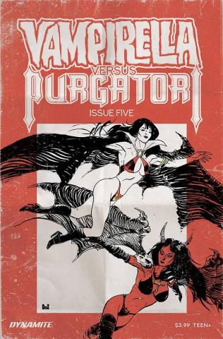 Vampirella vs. Purgatori #5 (Broxton Cover)
