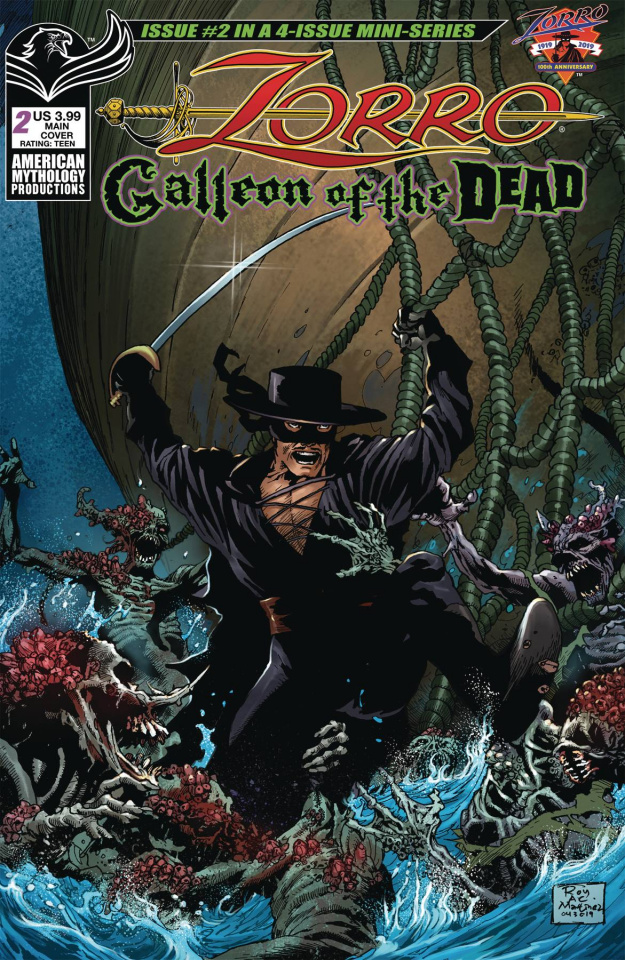 Zorro: Galleon of the Dead #2 (Martinez Cover)