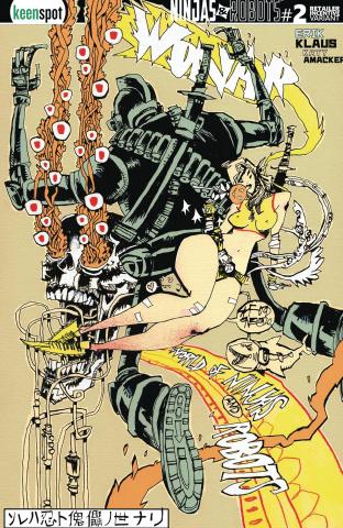 Ninjas and Robots #2 (Free 5 Copy Mahfood Cover)