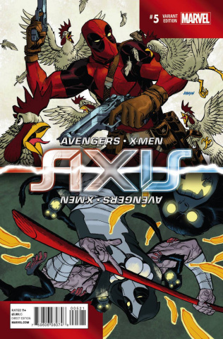 Avengers and X-Men: AXIS #5 (Inversion Cover)