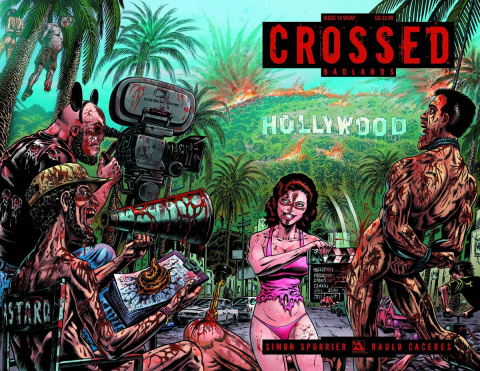 Crossed: Badlands #19 (Wrap Cover)