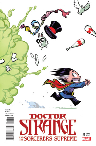 Doctor Strange and the Sorcerers Supreme #1 (Young Cover)
