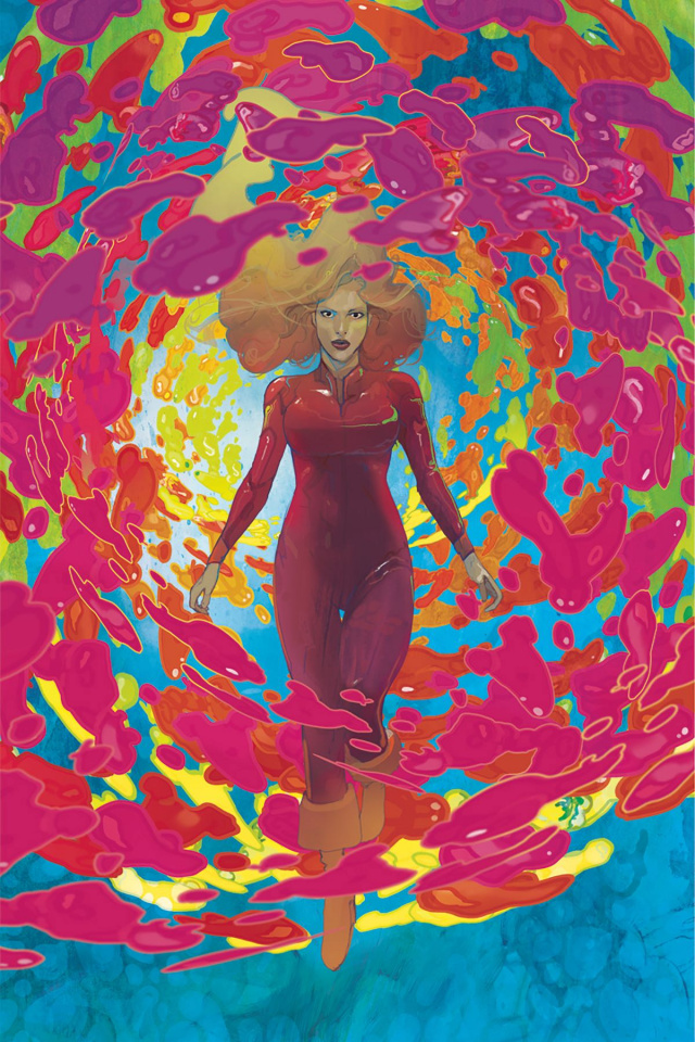 Barbarella #8 (30 Copy Ward Virgin Cover)