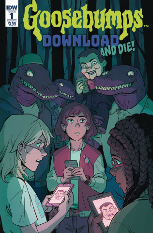 Goosebumps: Download and Die! #1 (Wong Cover)