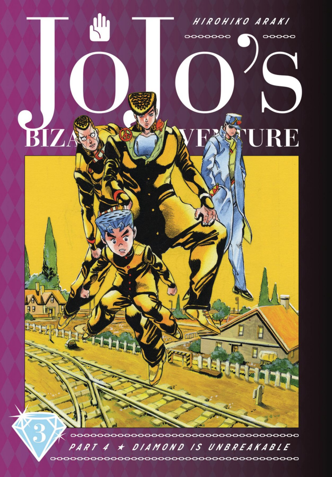 JoJo's Bizarre Adventure Vol. 3, Part 4: Diamond Is Unbreakable