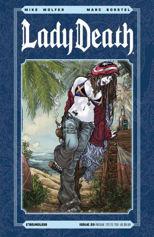 Lady Death #25 (Reggae Cover)