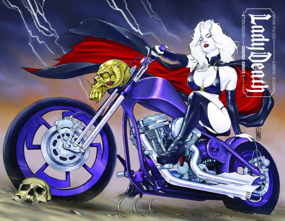 Lady Death Origins: Cursed #1 (Wrap Cover)