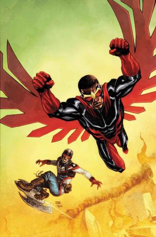 The Falcon #1 (Cassara Cover)