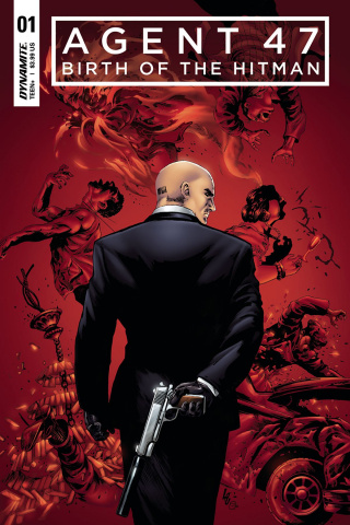 Agent 47: Birth of the Hitman #1 (Lau Cover)