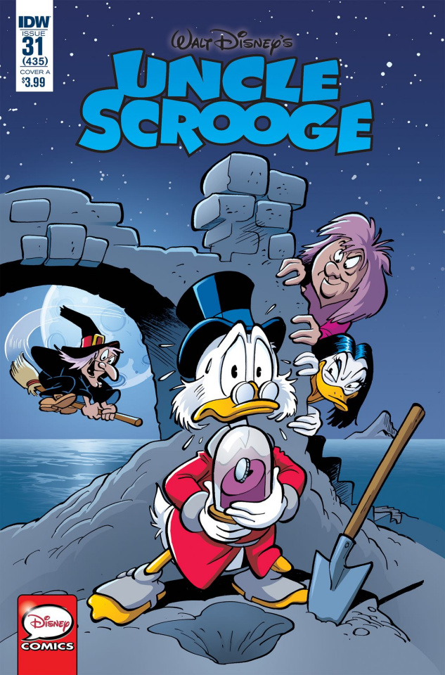 Uncle Scrooge #31 (Jippes & Schroeder Cover)