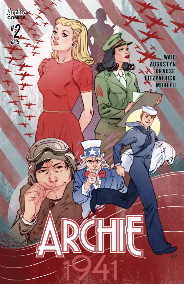 Archie: 1941 #2 (Sauvage Cover)