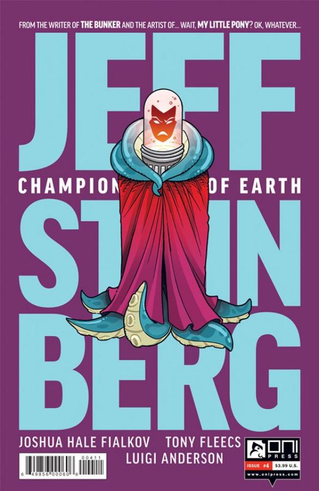 Jeff Steinberg: Champion of Earth #4