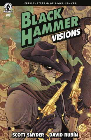 Black Hammer: Visions #8 (Rubin Cover)