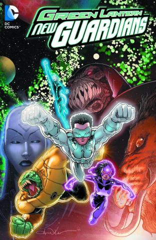 Green Lantern: New Guardians Vol. 3: Love & Death