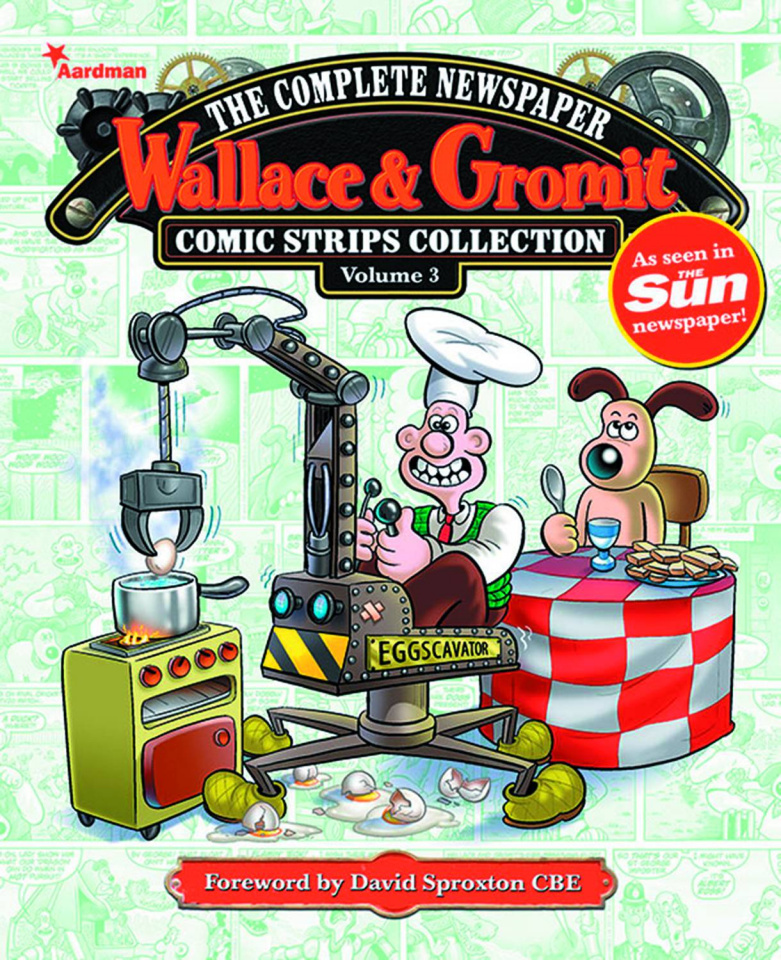 Wallace & Gromit: The Complete Newspaper Comic Strips Collection Vol. 3