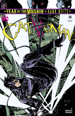 Catwoman #14 (Dark Gifts Cover)