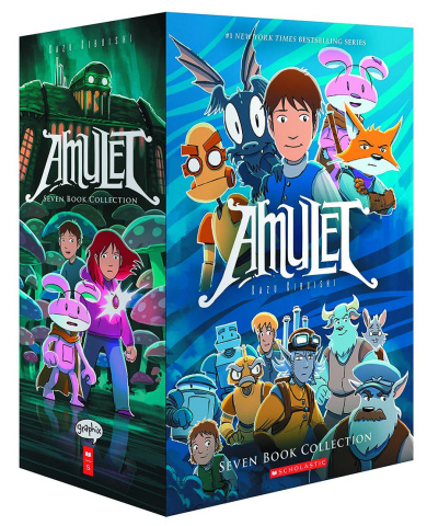 Amulet Vols. 1-7 (Box Set)