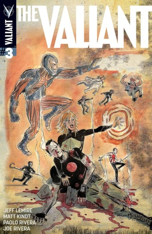 The Valiant #3 (20 Copy Lemire & Kindt Cover)