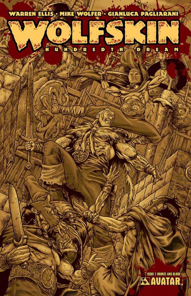 Wolfskin: Hundredth Dream #1 (Blood & Bronze Cover)
