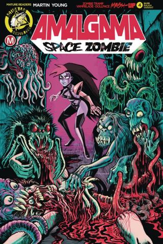 Amalgama: Space Zombie #4 (Baugh Cover)