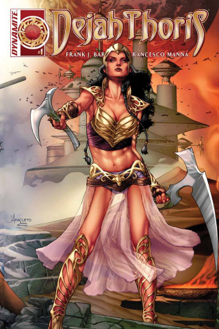 Dejah Thoris #1 (Anacleto Connect Cover)