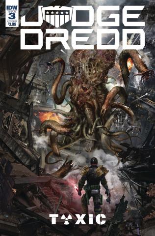 Judge Dredd: Toxic #3 (Gallagher Cover)