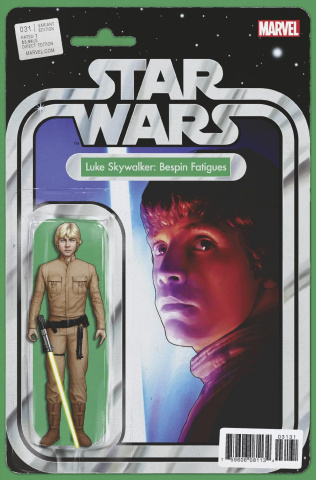 Star Wars #31 (Christopher Action Figure Cover)