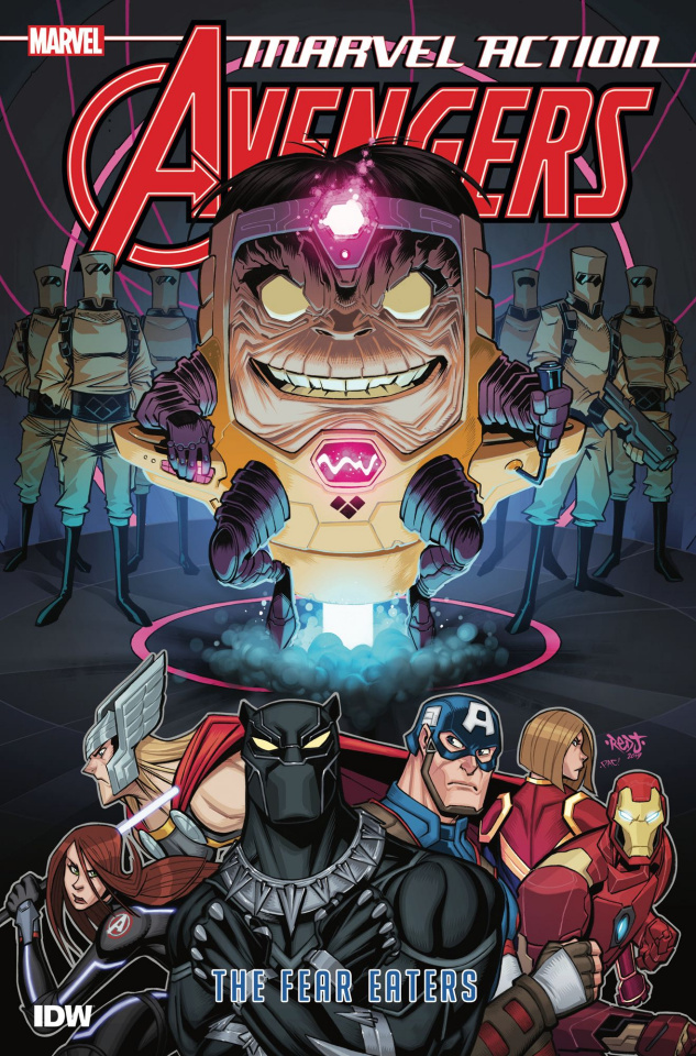 Marvel Action: Avengers Book 3: The Fear Eaters