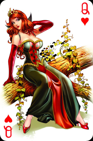 Grimm Fairy Tales: Wonderland - Through the Looking Glass #3 (Nunes Cover)