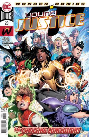 Young Justice #20 (John Timms Cover)