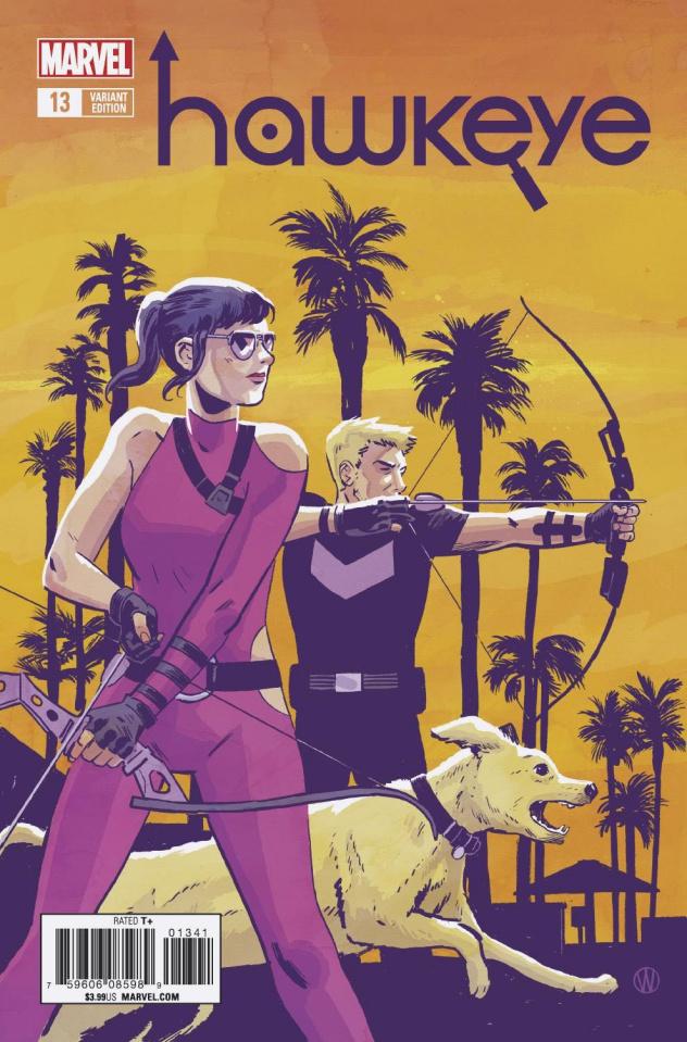 Hawkeye #13 (Walsh Cover)