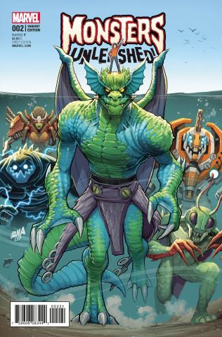 Monsters Unleashed! #2 (Nakayama Cover)