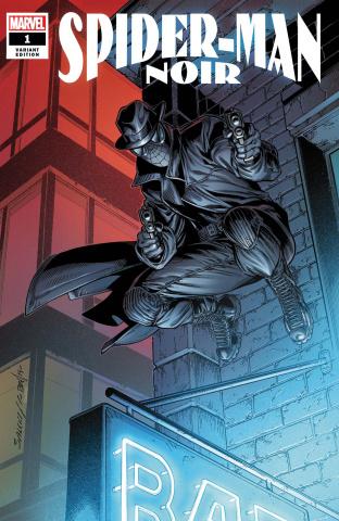 Spider-Man Noir #1 (Bagley Cover)