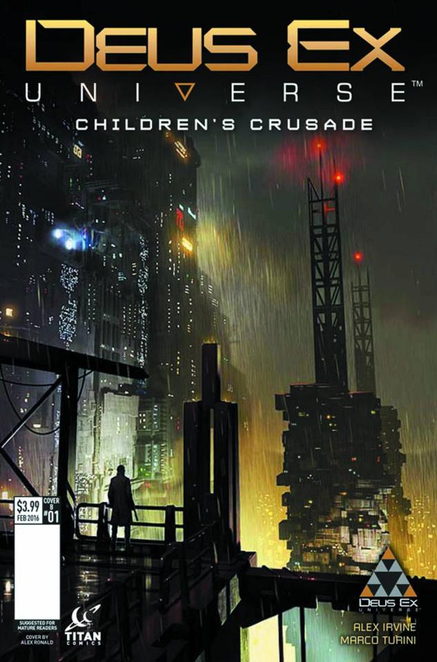 Deus Ex #1 (Ronald Cover)