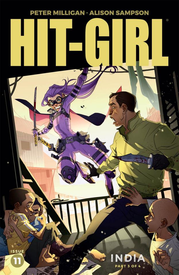 Hit-Girl, Season Two #11 (Yildirim Cover)