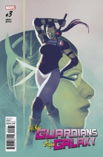 All-New Guardians of the Galaxy #3 (Irving Cover)