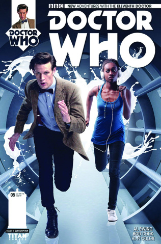 Doctor Who: New Adventures with the Eleventh Doctor #5 (Subscription Cover)