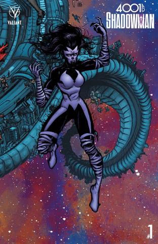 4001 AD: Shadowman #1 (20 Copy Mega Lee Cover)