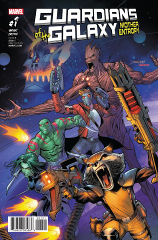 Guardians of the Galaxy: Mother Entropy #1 (Mora Cover)