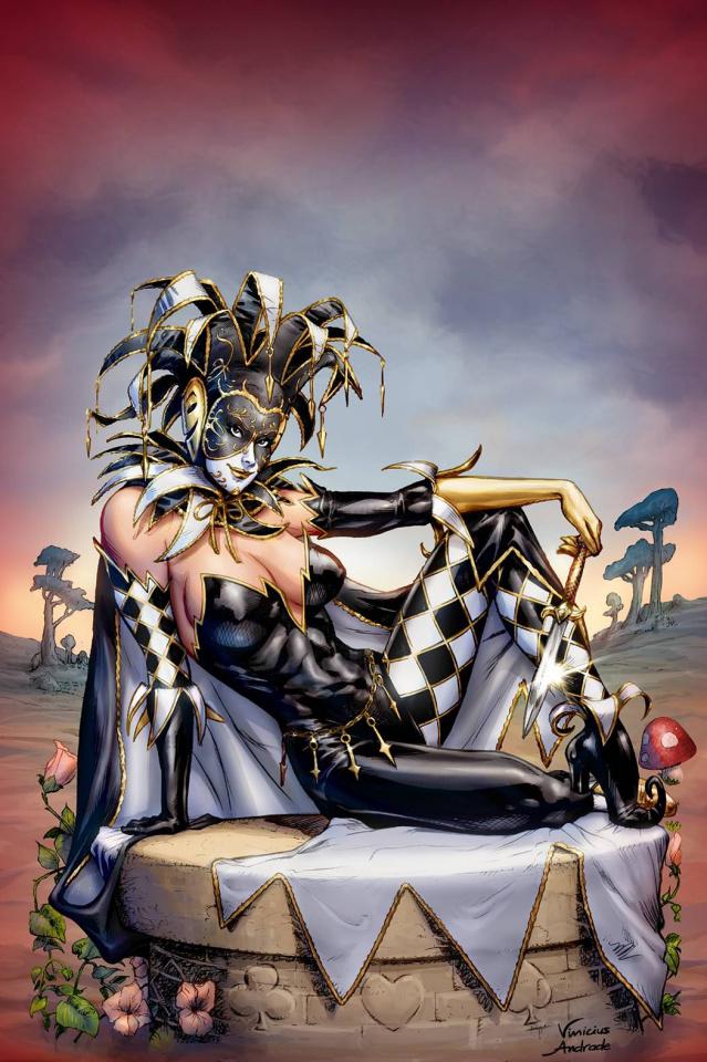 Grimm Fairy Tales: Wonderland - Clash of Queens #3 (Dooney Cover)