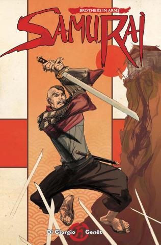 Samurai: Brothers in Arms #3 (McCrea Cover)