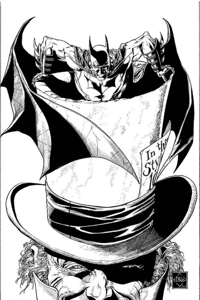 Batman: The Dark Knight #16 (Black & White Cover)